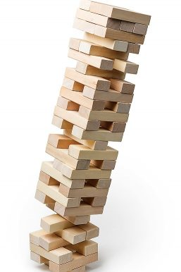 markets both bull and bear are more like playing a game of Jenga. The bull market starts after the tower has fallen and each block is replaced building the stack up. Its then that the real game starts as you take a block out